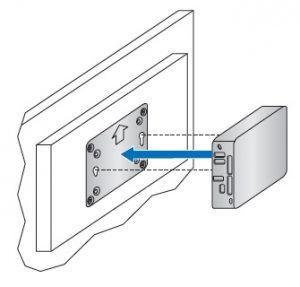 PC Industriel avec montage VESA