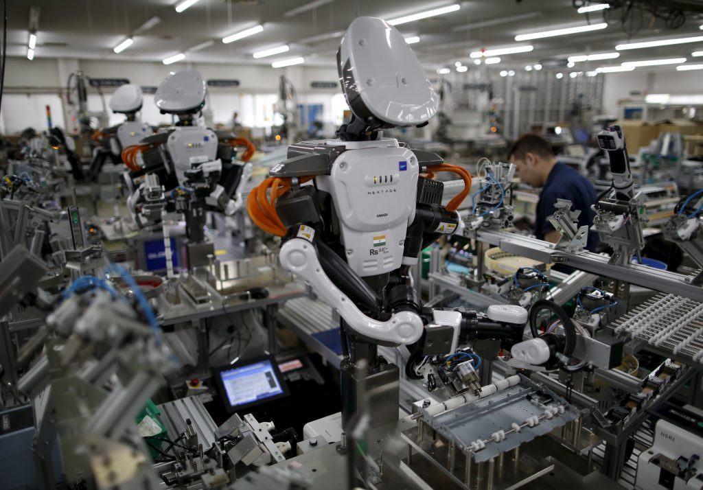 Robots dans l'industrie