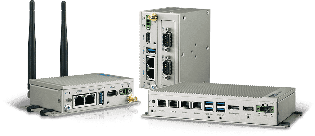 Les PC Fanless UNO 2000 Advantech