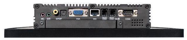 Connectique PC fanless 1