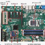 Les processeurs Coffee Lake (8ème gén) arrivent sur les cartes mères Advantech