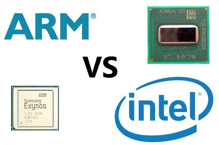 Processeur ARM vs INTEL