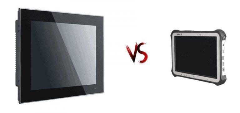 Panel PC vs Tablette durcie