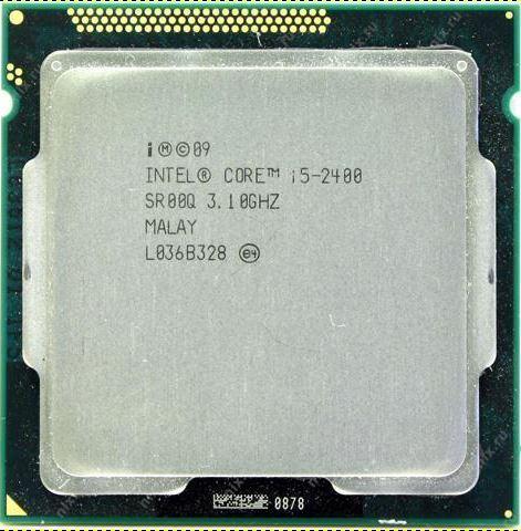 Processeur Intel Core i5 de seconde génération