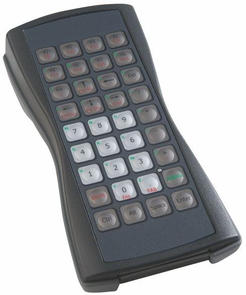 Clavier industriel compact et portable 36 touches