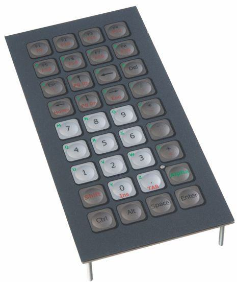 Clavier compact 36 touches
