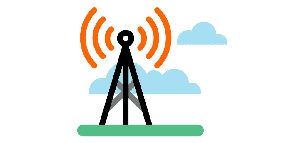 antenne 4G schématique