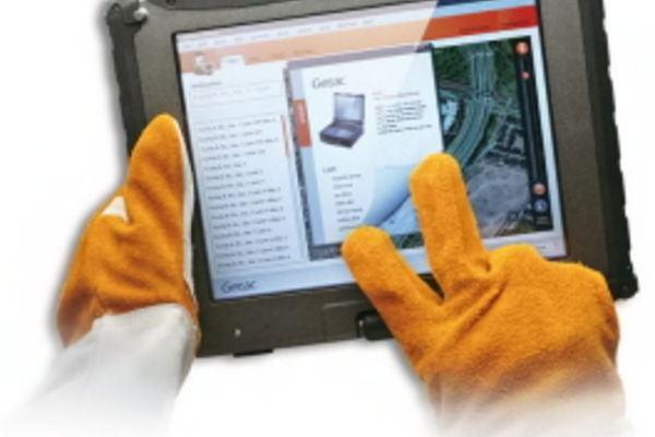Capacitif avec gants qui fonctionne