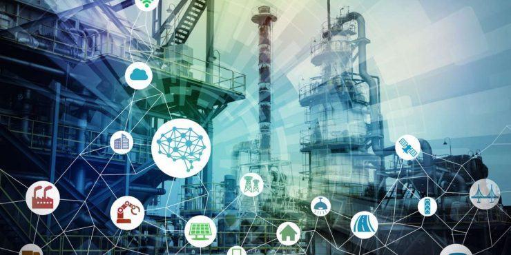 Représentation de l'industrie 4.0