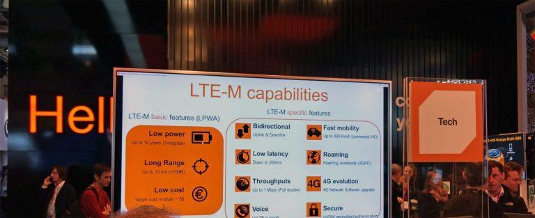 Lancement LTE-M en 2018 par orange