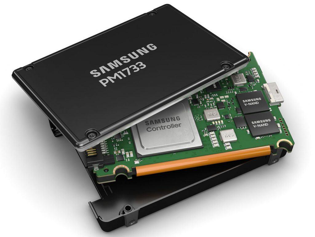 SSD en vue éclatée