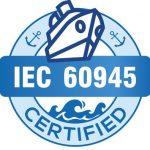 Qu'est-ce que la norme IEC 60945 pour la marine ?
