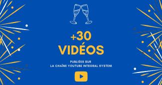 30 vidéos envoyées sur Youtube