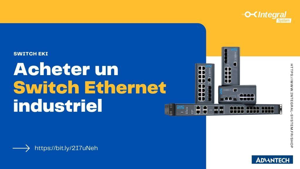Acheter un switch ethernet industriel en ligne