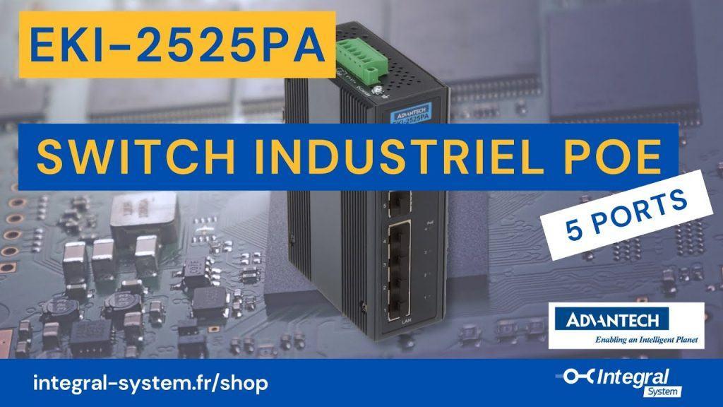 Switch PoE EKI-2525PA