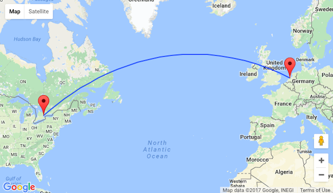 Amsterdam et Toronto