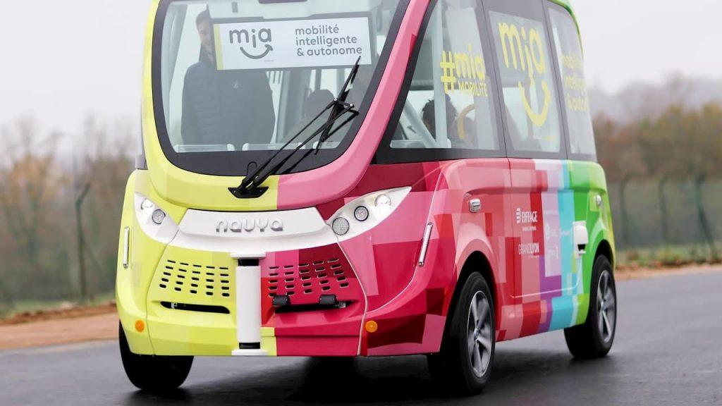 Bus intelligent Navya