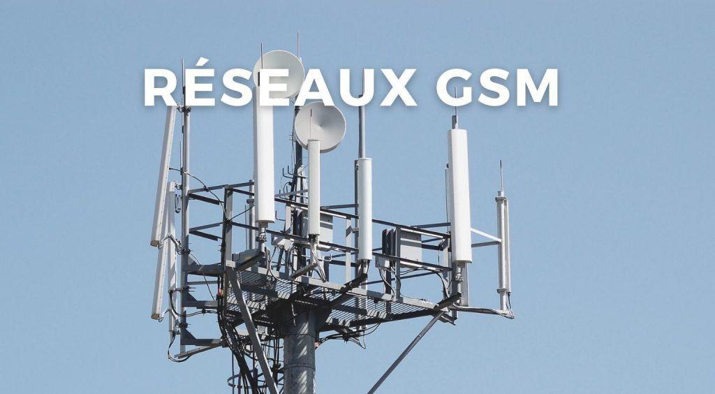 Réseaux GSM et IoT