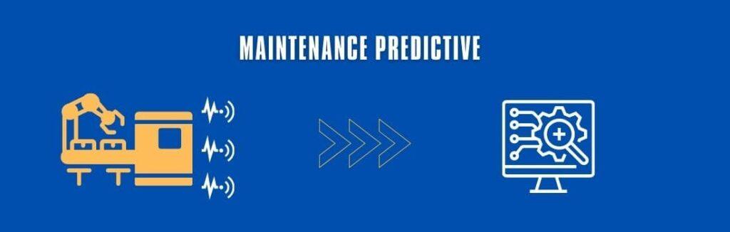 Schéma de flux de la maintenance prédictive